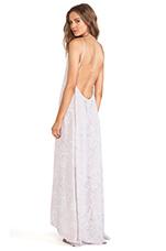 Scoop Back Maxi Dress in Lavender Fields