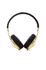 Taylor Headphones in Gold & Black