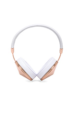 Taylor Headphones in Rose & White