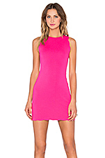 x REVOLVE Rosarito Dress in Hot Pink