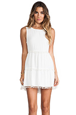 Chica Mini Dress in Ivory