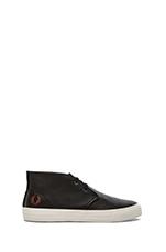 Vernon Mid Sneaker in Black/ Dark Cinnamon