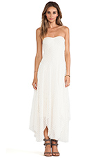 Mesh Dress in Ivory
