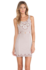 Song of South Dress in Taupe