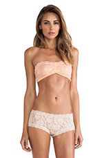 Essential Lace Bandeau in Cantaloupe
