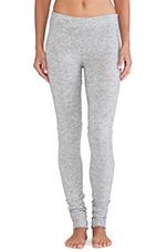 Heathered Knit Legging in Light Grey