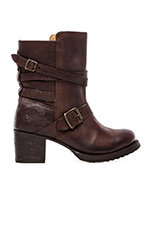 Vera Strappy Boot in Brown