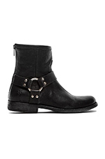 Philip Harness Bootie in Black