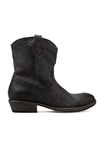 Carson Lug Short Boot in Black