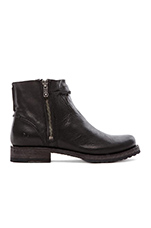 Veronica Seam Short Boot in Black