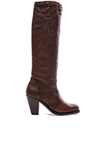 Mustang Stitch Tall Boot in Cognac