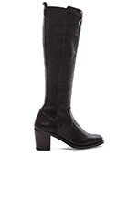 Janis Gore Tall Boot in Black