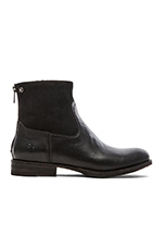 Jamie Zip Bootie in Black