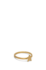 Star Ring Small en Or