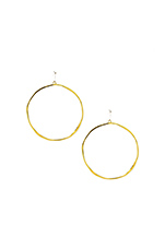 G Ring Earrings in Gold