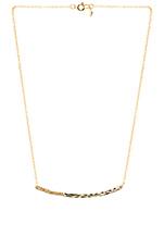 Taner Shimmer Necklace in Gold