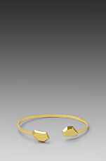 Blake Gem Cuff in Gold