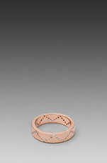 Delaney Wave Ring in Rosegold