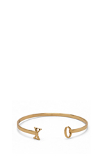 XO Cuff in Gold