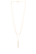 Pressed Taner Layer Necklace in Gold