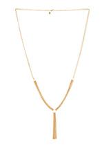 Mave Tassel Necklace in Gold