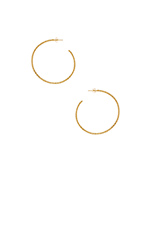 Bali Arc Hoops in Gold