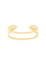 Aldridge Cuff in Gold