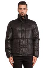 Bearing Puffer Jacket in Black