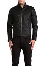 Forc Across Biker Jacket in Black