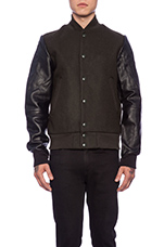 x Marc Newson Premium Bomber in Deep Forest