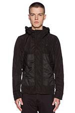 Hooded Rovic Jacket in Black