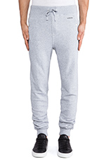 Sobeck Tapered Sweatpant in Grey Heather