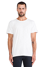 Relaxed Tee in White