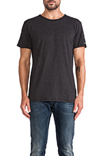 Relaxed Tee in Black