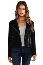 Karla Moto Jacket in Black