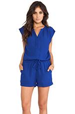 Ronson Playsuit in Cobalt Blue