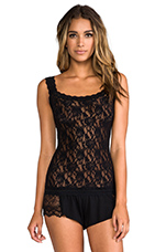 Signature Lace Unlined Cami in Black