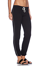 Chains Vintage Sweatpant in Black