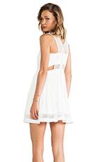 Niko Dress in White