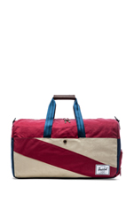 Studio Collection Lonsdale Duffle in Bone &Navy & Burgundy