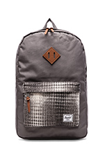 Cabin Collection Heritage Backpack in Grey/ Knit