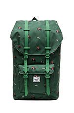 Little America Backpack in Sunday/ Emerald
