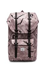 Little America Backpack in Geo/ Black