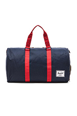 Novel Duffle in Navy/ Red/ Camo