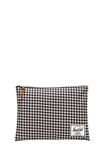 XL Network Pouch in Houndstooth