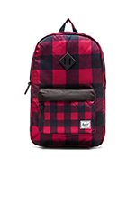 Heritage Backpack in Buffalo Plaid