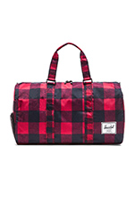 Novel Duffle in Buffalo Plaid