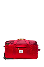 Wheelie Outfitter Duffle in Red & Burgundy & Rust