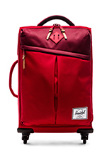 Highland Carry On in Red & Burgundy & Rust