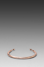 Finespun Cuff in Rose Gold
